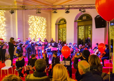 Wedge Power - Natale in corso 2017 - palco concerti